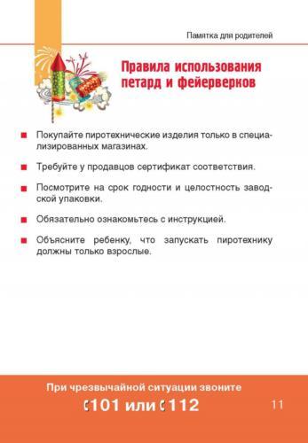 Правила использования петард и фейерверков